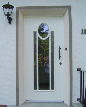 Weiße Haustüren weiße haustür mit elipse in delbrück haustüren galerie